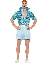 Men's Barbie, Safari Ken Fancy Dress Costume | Fancy Panda