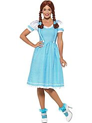 Womens Kansas Country Girl Fancy Dress Costume | Fancy Panda