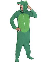 Men's Crocodile Fancy Dress Costume | Male Animal Outfits UK