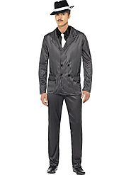 Men's Gangster Fancy Dress Costume | Fancy Panda