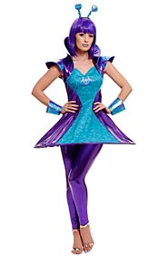 Blue angle fancy dress for dress parties in uk