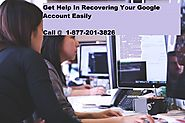 Resolve your Google Account Recovery issue in few steps