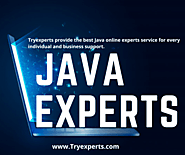 Website at https://www.tryexperts.com/java-online-programming-help-free-with-experts