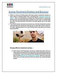 Autism Treatment Centers and Services by ASC HealthCare - Issuu
