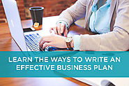 7 Ways to Write an Effective Business Plan