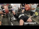 Eric Spoto 722 lbs (327.5 kg) World Record Raw Bench Press