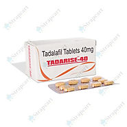 Buy Tadarise 40mg : Review, Price, Dosage - Strapcart