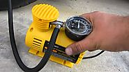 12-Volt Portable Tire Inflator On The Market These Days