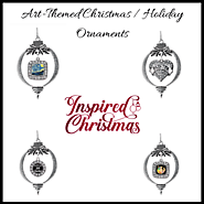Art-Themed Christmas / Holiday Ornaments