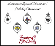 Awareness Special Christmas / Holiday Ornaments