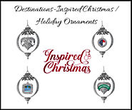 Destinations-Inspired Christmas / Holiday Ornaments