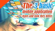 Functional differences in types of Mobile applications