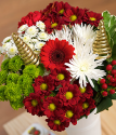 Christmas Bouquet | Jingle Berry Christmas Bouquet | Bunches.co.uk