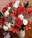 Christmas Bouquet | Christmas Flowers | Christmas Flowers By Post
