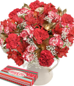 Christmas Flower Gift | Happy Christmas Gift XL |Christmas Flowers By Post From Bunches