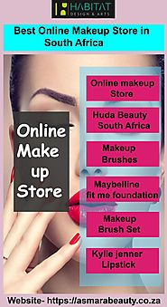 Buy best online makeup store in South Africa