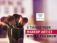 5 Things Your Makeup Artist Wishes You Know