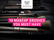 10 Makeup Brushes You Must Have in Your Makeup Kit