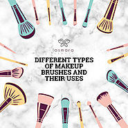 Different types of makeup brushes and their uses | Visual.ly
