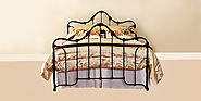 3 wrought iron beds to make your bedroom look classy
