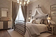 Best Simple Wrought Iron Bed Designs
