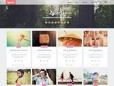 Lycoris Responsive Photography Blogger Template 2014 Free