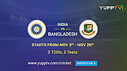 Website at https://itrendinglive.com/india-vs-bangladesh-excitement-begins-from-3rd-november-on-yupptv/