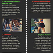 Best Gym Machines to Use With Bad Knees | Visual.ly