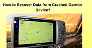 Recover Data from Crashed Garmin Device | GPS Update