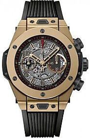 Hublot Big Bang Unico Full Magic Gold Skeleton Dial Limited Edition Men's Watch 411.MX.1138.RX Replica