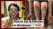 Best henna tattoo Design in Brisbane