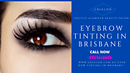 Eyebrow tinting in Brisbane