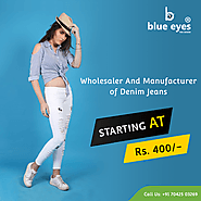 Ladies Jeans Manufacturers in Delhi