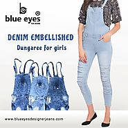 Get Best Dungaree Collection at Blue Eyes