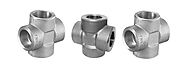 Stainless Steel Equal / Unequal Tee Cross Fitting Manufacturer in India -Sachiya Steel International
