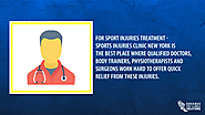 • For sport Injuries treatment - Sports Injuries Clinic New York is the best place where qualified doctors, body trai...