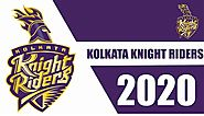 Kolkata Knight Riders KKR Squad IPL 2020 | KKR Full Team 2020