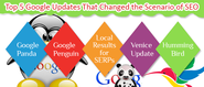 Top 5 Google Updates That Changed the Scenario of SEO