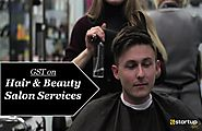 How much GST rates apply on Hair & Beauty Salon?