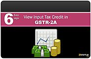 Website at https://www.e-startupindia.com/blog/how-to-view-gst-itc-in-gstr-2a/10443.html