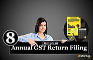 8 Simplified Changes in New Annual GST Return Filing