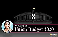What are the High Tides of Union Budget 2020?