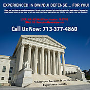 Call 713-377-4860 to speak with a DUI attorney.