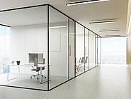 Get Best Office glass partition works in Dubai