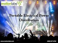 Portable Electrical Power Distribution