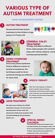 Various types of autism treatment