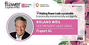 We welcome our speaker Roland Weil, VP Sales Cargo, Fraport AG at FLA2019