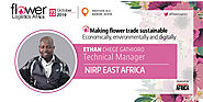 Ethan Chege Gathioro,Technical Manager of Nirp East Africa will join as a speaker at FLA2019.