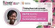 Faith Ndanu, General Manager, Fox International Logistics will join FLA2019 as our speaker.