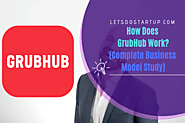 How Does GrubHub Work? Complete Business Model Study - Let's Do Startup